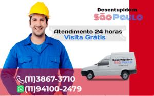 Atendimento Desentupidora na Vila Clementino 24 horas