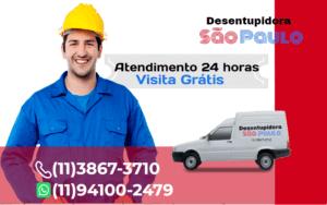 Atendimento Desentupidora na Vila Nova Conceição 24 horas