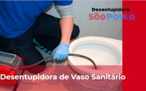 Desentupidora de Vaso Sanitário em São Paulo