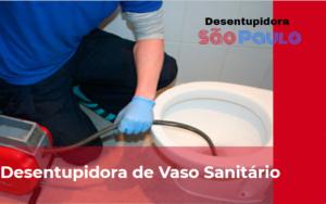 Desentupidora de Vaso Sanitário na Vila Clementino