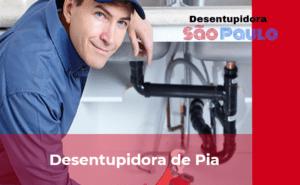 Desentupidora de pia na Vila Nova Conceição