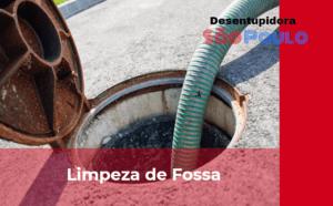 Empresa de Limpeza de Fossa na Vila Clementino