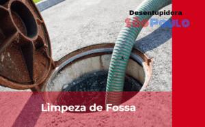 Empresa desentupidora de Fossa na Chácara Flora