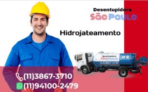 empresa hidrojateamento na Vila Olímpia