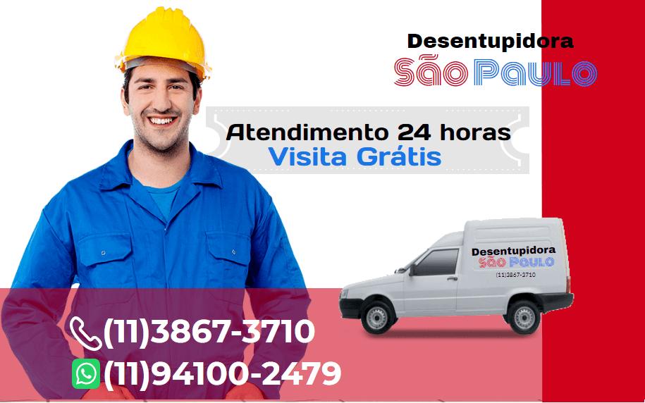 Atendimento Desentupidora em Ribeirão Pires 24 horas