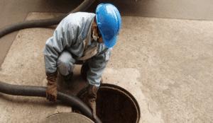 serviço de limpa fossa em SP