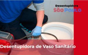 Desentupidora de Vaso Sanitário em Santo Amaro
