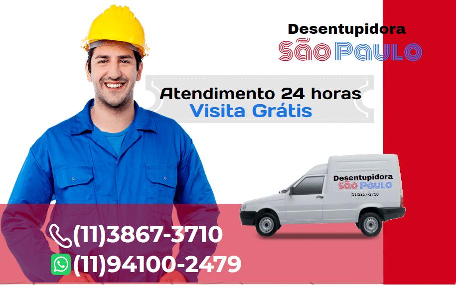 Empresa Desentupidora em São Paulo 24 horas