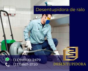 Desentupidora de Ralo Guarulhos