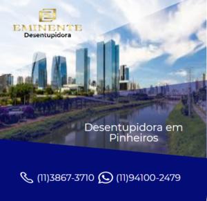 serviço DESENTUPIDORA EM PINHEIROS