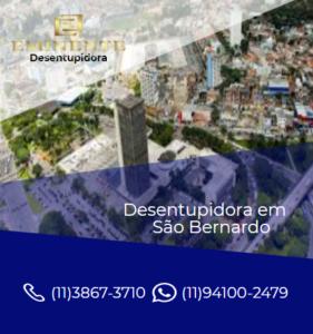 Empresa desentupidora em São Bernardo