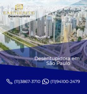 SERVIÇO DESENTUPIDORA EM SÃO PAULO