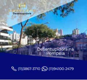 EMPRESA DESENTUPIDORA DE ESGOTO 24 HORAS NA POMPEIA