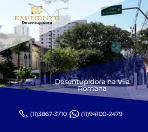 Empresa desentupidora de esgoto serviço 24 horas Vila Romana