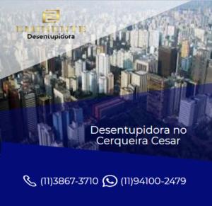 Empresa desentupidora de esgoto serviço horas Cerqueira Cesar