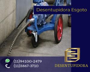 DESENTUPIDORA DE ESGOTO FREGUESIA DO Ó