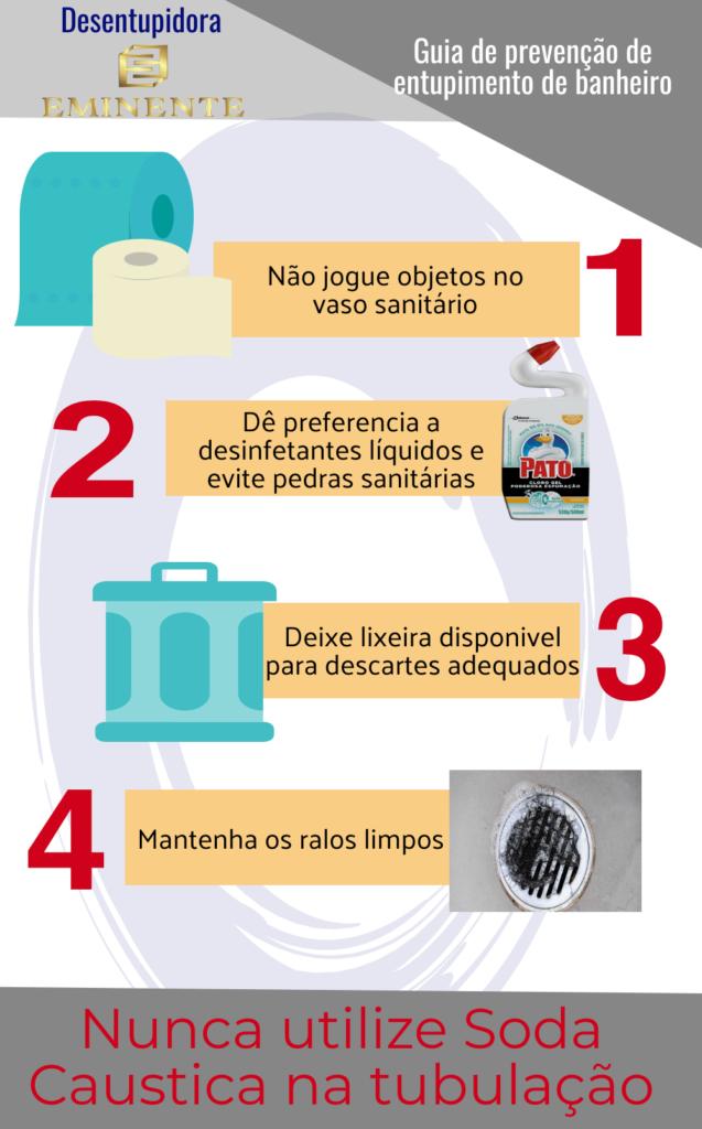 prevenção de entupimentos de banheiros Desentupidora em São Paulo
