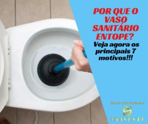 Por que o Vaso Sanitário Entope Veja agora os Principais 7 Motivos